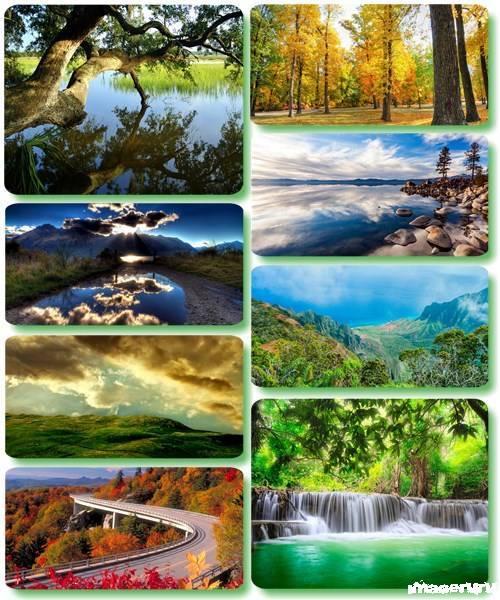 Потрясающие пейзажи природы 30