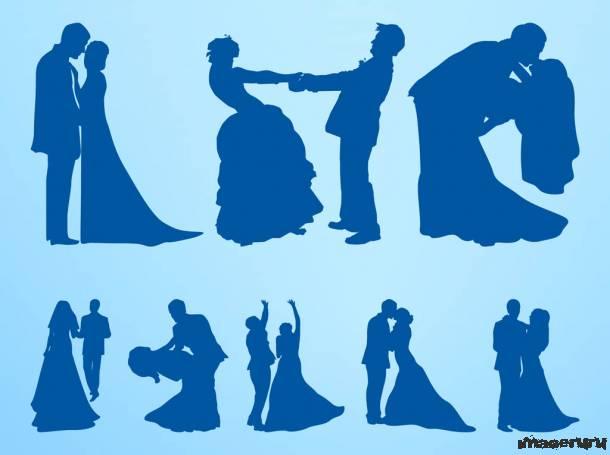 Свадебные силуэты