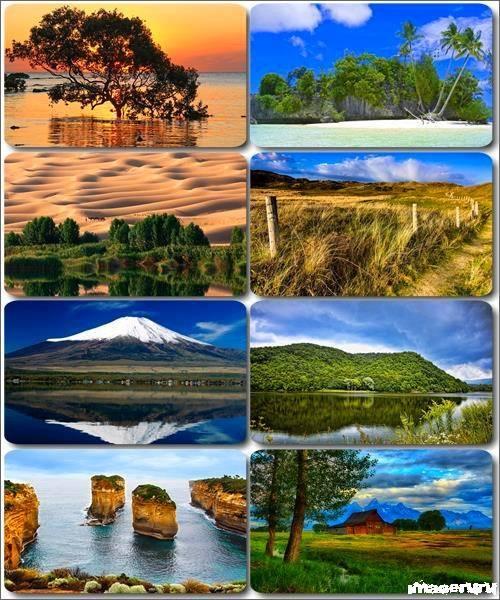 Потрясающие пейзажи природы 32