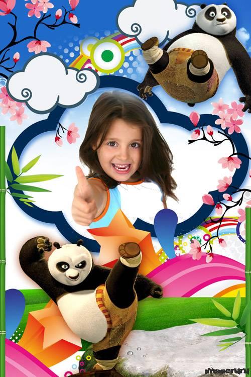 Фоторамка - Панда твой лучший друг