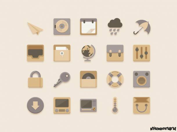 Ванильные иконки