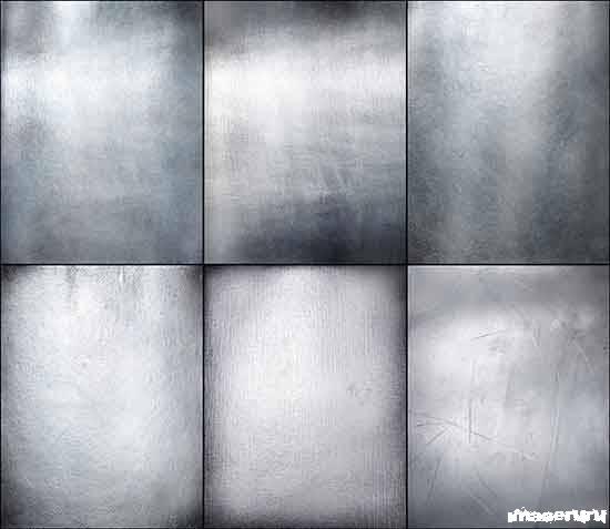 Серебристый металл