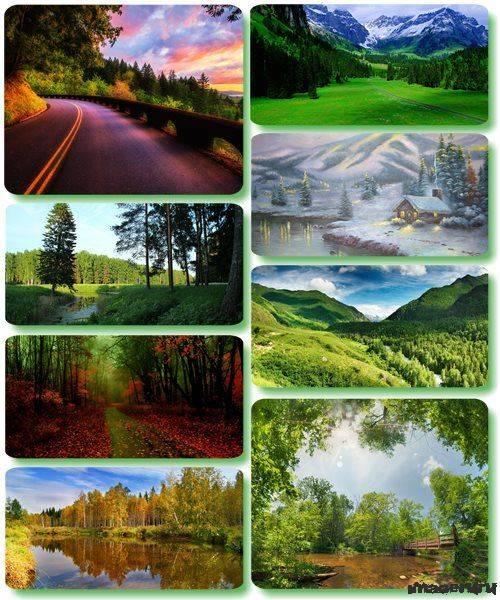 Потрясающие пейзажи природы 36