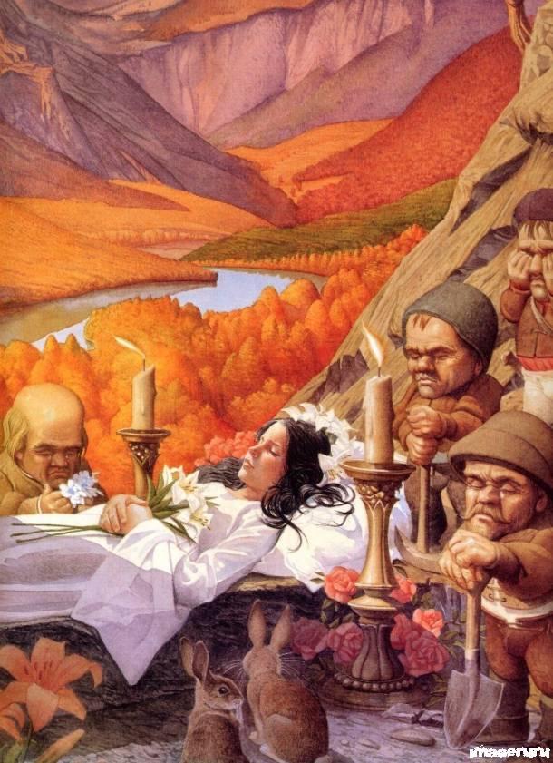 Сказочные иллюстрации Чарльза Санторе