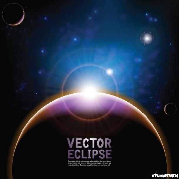 Космос - векторные шаблоны