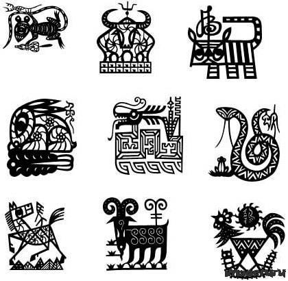 Животные китайского гороскопа