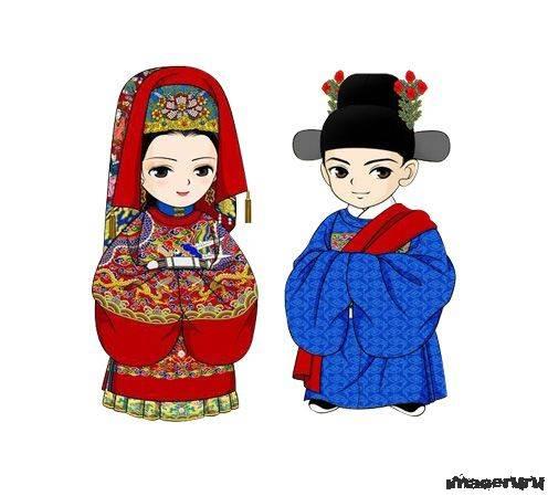 Традиционное китайское свадебное платье