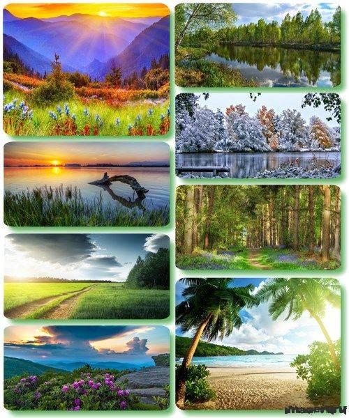 Потрясающие пейзажи природы 38