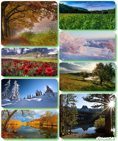 Потрясающие пейзажи природы 40
