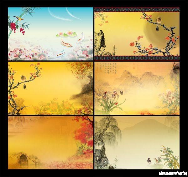 Бэкграунд в китайском стиле