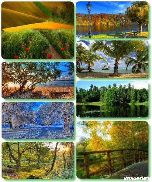 Потрясающие пейзажи природы 43