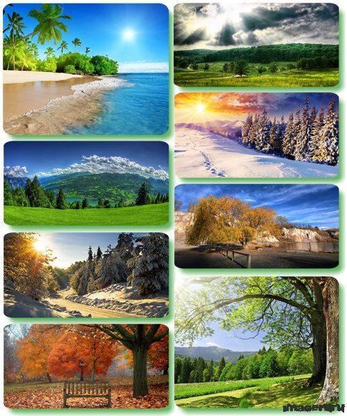 Потрясающие пейзажи природы 45