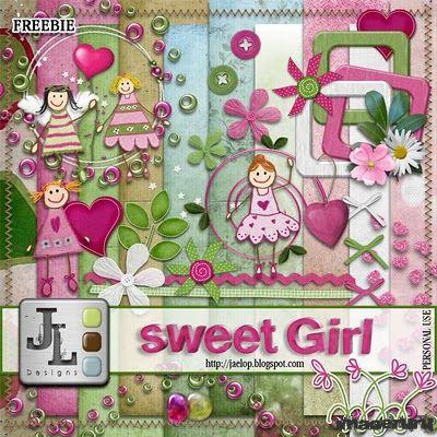 Скрап Sweet Girl