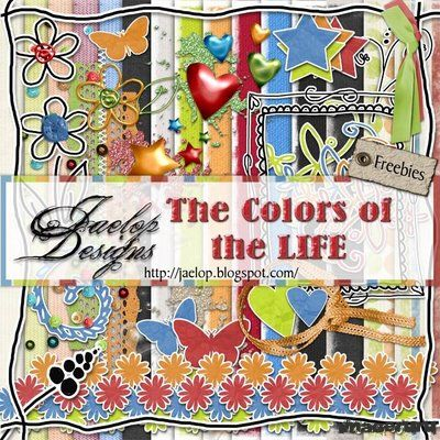 Скрап цвета жизни