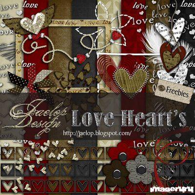 Скрап Love Heart's