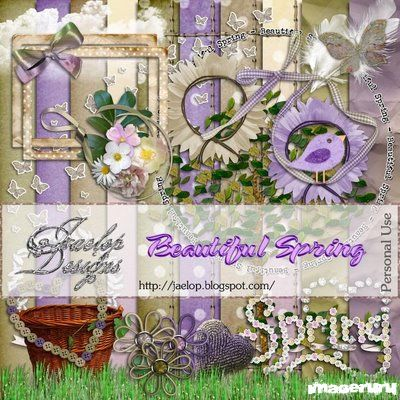 Скрап Beautiful Spring