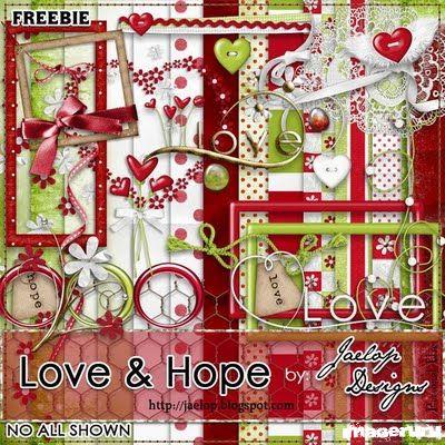 Скрап Love & Hope
