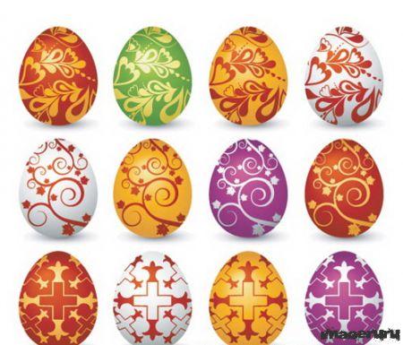 Яйца в векторе