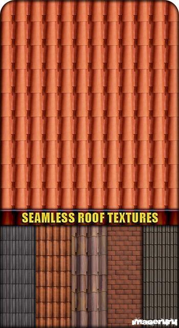 Черепичная крыша и кирпич