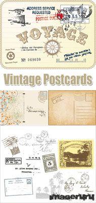 Старинные почтовые карточки