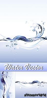 Вода в векторном формате