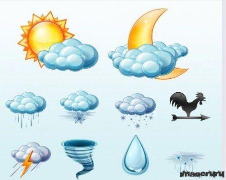 Иконки на тему погода