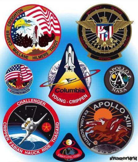 Шевроны НАСА