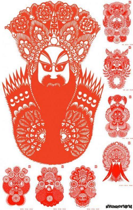 Персонажи китайского театра
