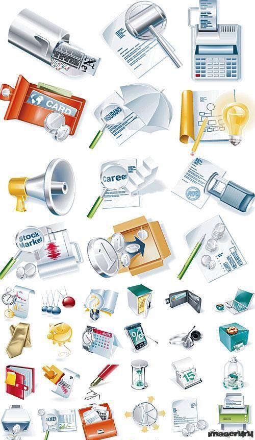 Иконки на тему бизнеса