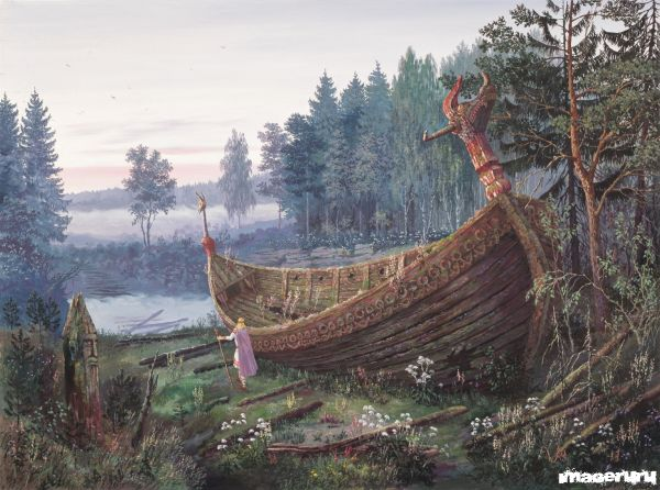 Картины художника Всеволода Иванова