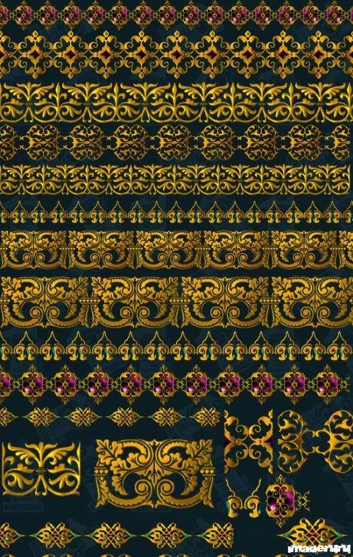 Декор из золота