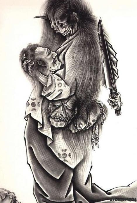 Японские тату от Horiyoshi