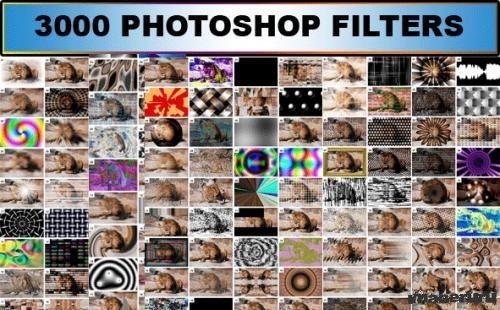 3000 фильтров для Adobe Photoshop