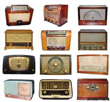 Ретро радиоприёмники