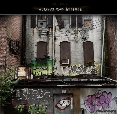 Graffiti - кисти для фотошопа