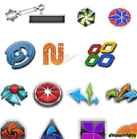 Шаблоны для логотипов