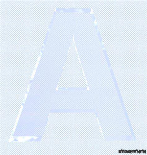 Буквы из льда
