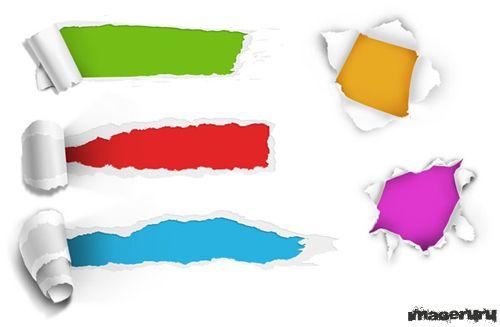 Разорваная бумага