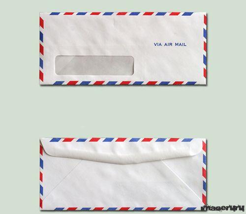 Авиапочта конверт