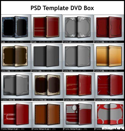 28 коробок для DVD