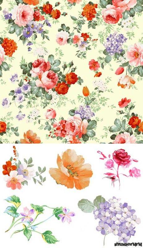 Цветы 56 PSD