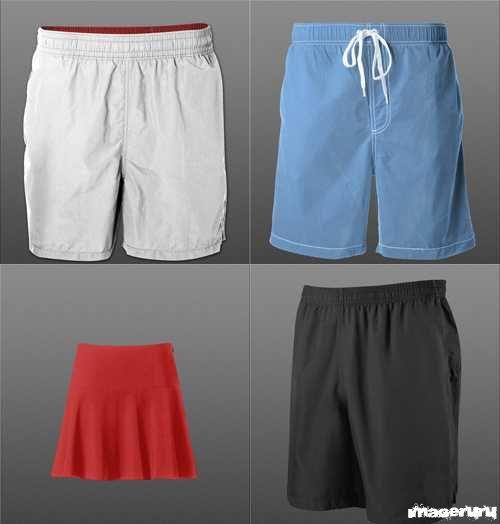 Тренировочные шорты и юбки
