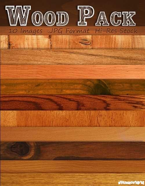 10 текстур различных пород древесины
