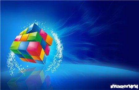 Кубик Рубика 3D