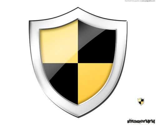 Иконка в виде щита