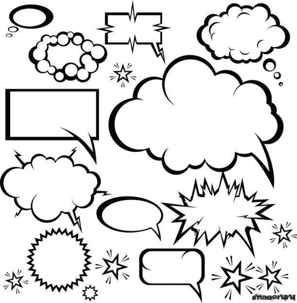 Облачка для текста