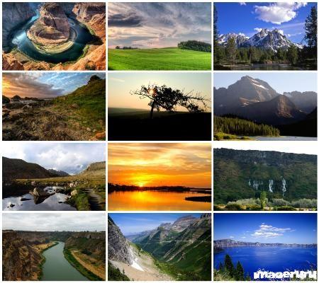 Красивые природные ландшафты