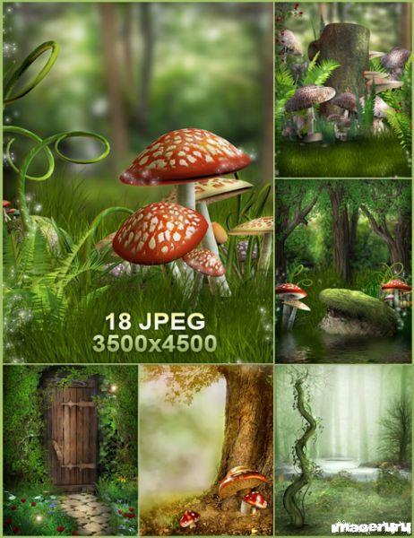 Красивые природные фоны ч.1