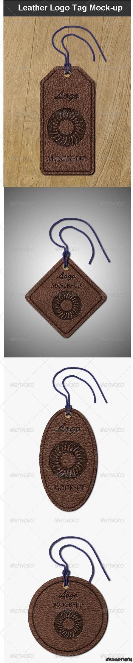 Кожаные бирки с логотипами