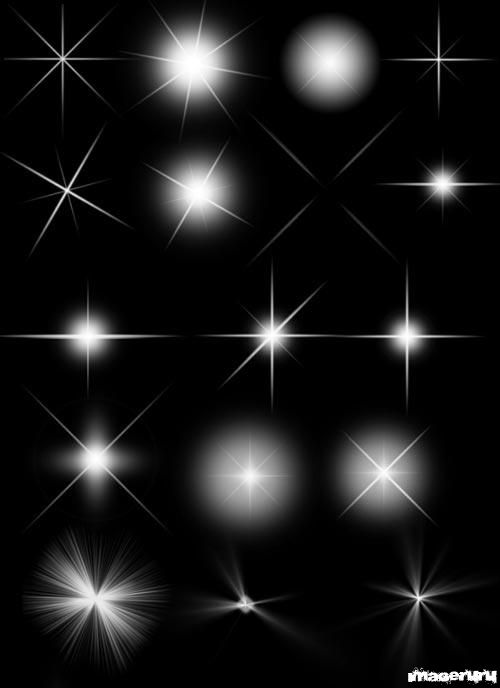 Световые блики - кисти для photoshop